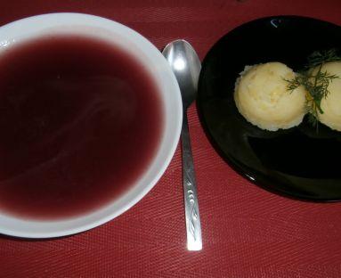 Garus, czyli świętokrzyska zupa owocowa