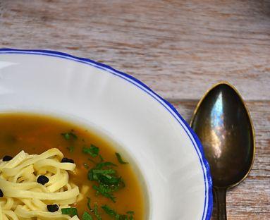Kremowa zupa z brukwi
