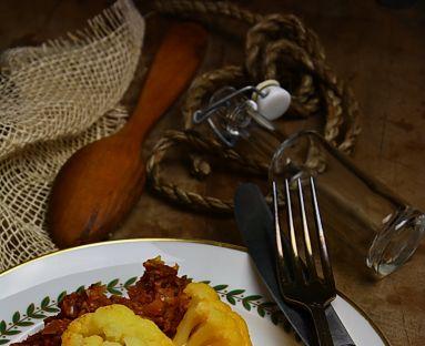 Karnabahar musakka-Musakka z kalafiora