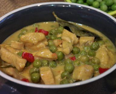 Kurczak w mleku kokosowym z curry