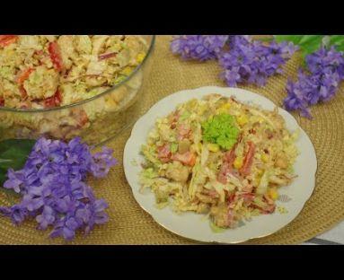 SAŁATKA GYROS - Idealna sałatka na grilla lub na domową imprezę