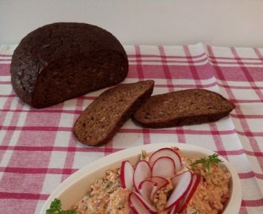 Pasta twarogowa z sardynkami i anchois