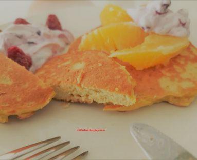 Migdałowe placuszki śniadaniowe czyli fit Pancakes