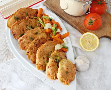 Filet z kurczaka w panierce z ciecierzycy