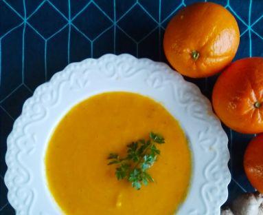Zupa krem z marchewki i pomaranczy