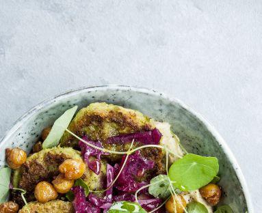 Falafel z zielonym groszkiem
