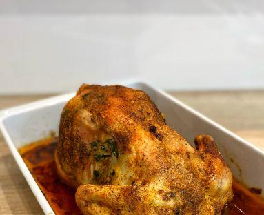 Aromatyczny i soczysty kurczak pieczony