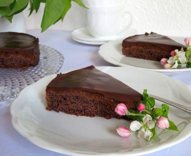 Tarta czekoladowa a'la Sacher
