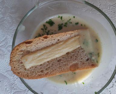 Zupa czosnkowo-cebulowa