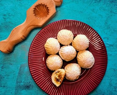 Maamoul - arabskie ciasteczka z semoliny