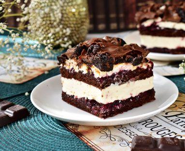 śliwka w czekoladzie ciasto
