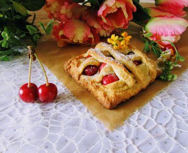 ciastka z wisnia