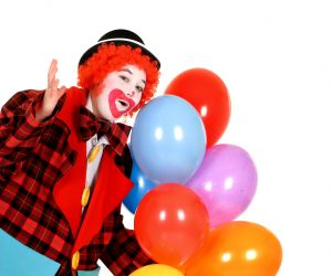 Kinder party clown