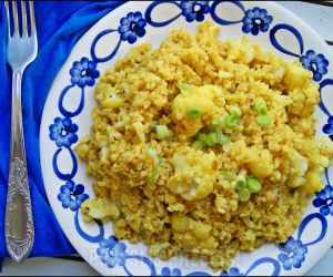 Bulgur z kalafiorem curry