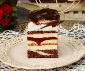Ciasto Oczy Carycy Z Kremem Cappuccino Przyslijprzepis Pl
