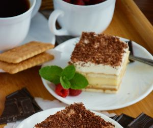 Ciasto 3 Bit Z Herbatnikami Bez Pieczenia Przyslijprzepis Pl