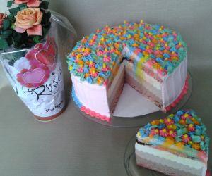 Tort Serowy Kolorowa Laczka Przyslijprzepis Pl