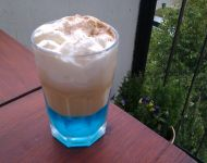"Coffee ""blue curacao"""