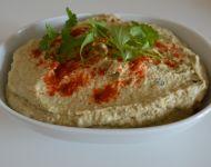 hummus z bakłażanem
