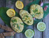 Zielony hummus z awokado