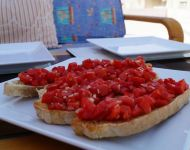 bruschetta/brusketta