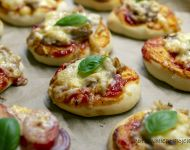 Pizzerinki - mini pizze na imprezę