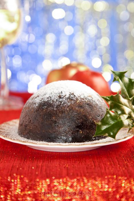 świąteczne Specjały Angielski Pudding świąteczny