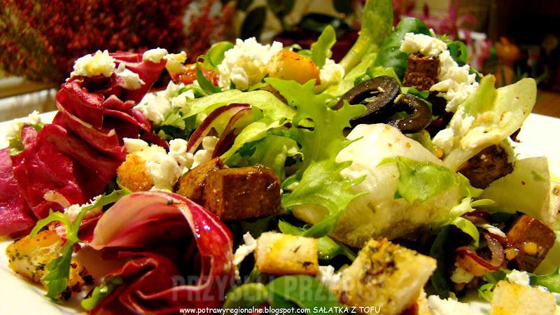 Salatka Warzywna Z Tofu