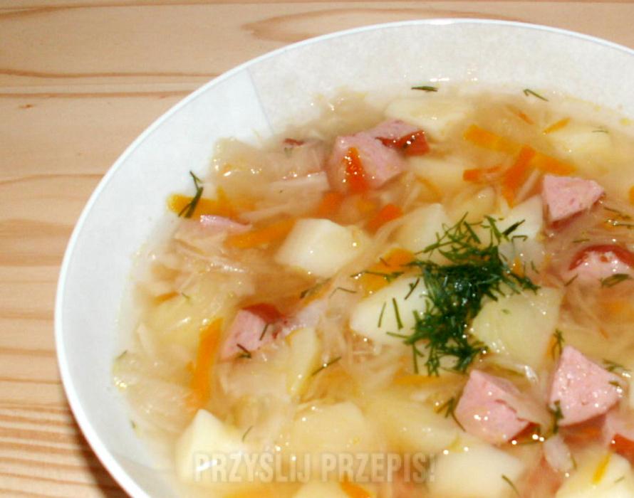 Zupa Z Kiszonej Kapusty Przyslijprzepis Pl