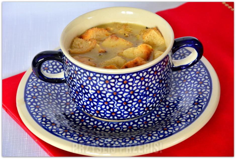 Francuska Zupa Cebulowa Przyslijprzepispl