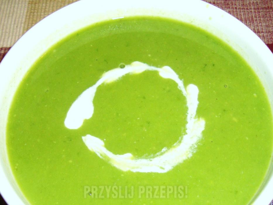 bfb49f2c4492a0 Zupa krem z zielonego groszku - PrzyslijPrzepis.pl