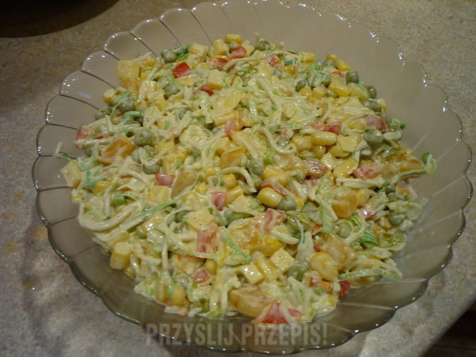 Salatka Z Porem Przyslijprzepis Pl