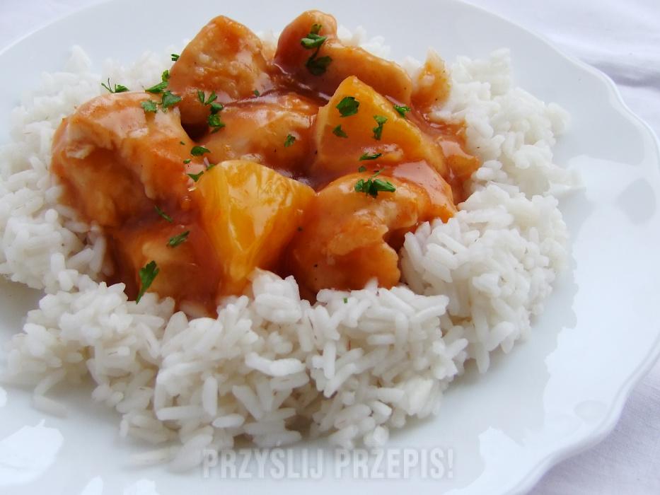 Chiński Pomarańczowy Kurczak Przyslijprzepispl