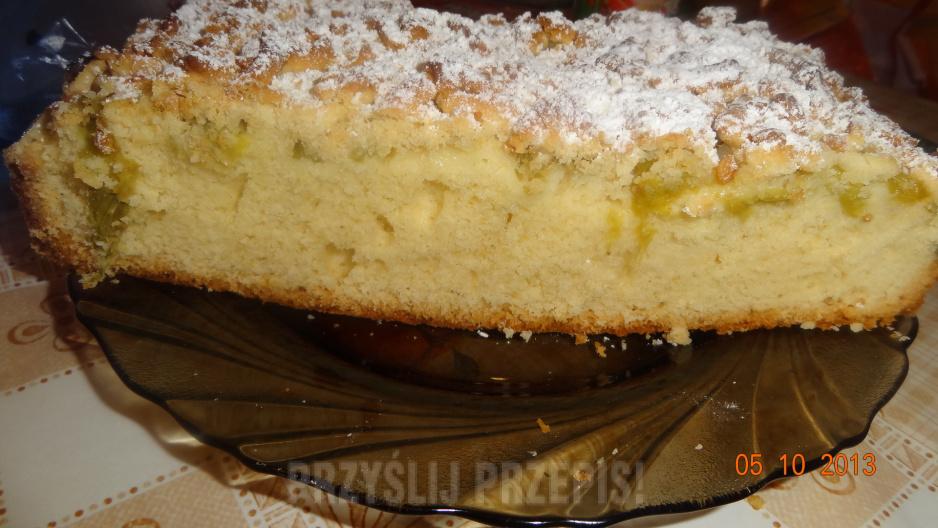 Ciasto Z Rabarbarem Przyslijprzepis Pl