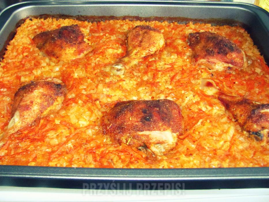 Kurczak W Pysznym Ryzu Bez Gotowania Przyslijprzepis Pl