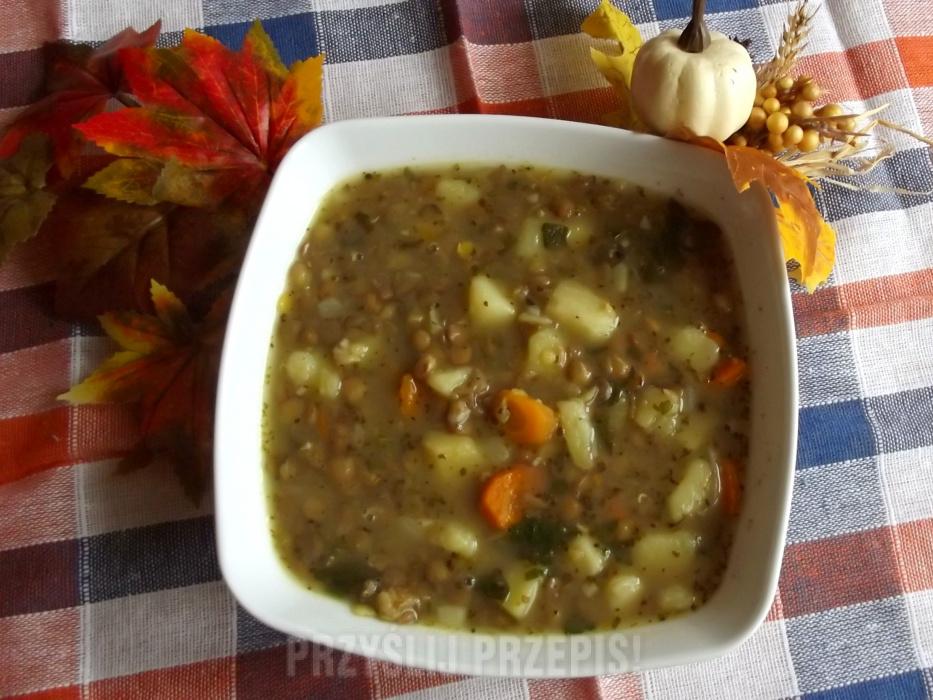 Zupa Z Zielonej Soczewicy Przyslijprzepis Pl