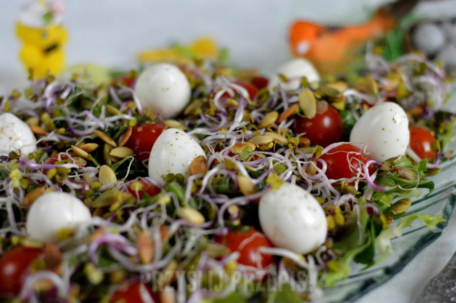 Salatka Z Przepiorczymi Jajkami Przyslijprzepis Pl
