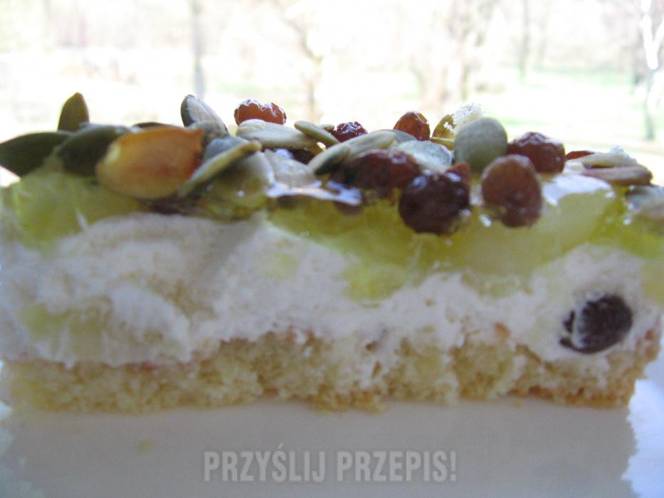 Ciasto Z Gruszkami I Pestkami Dyni Przyslijprzepis Pl