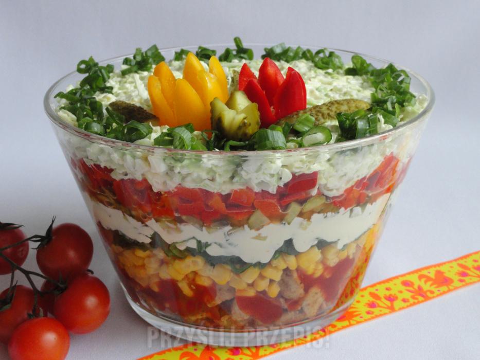 Salatka Gyros Przyslijprzepis Pl