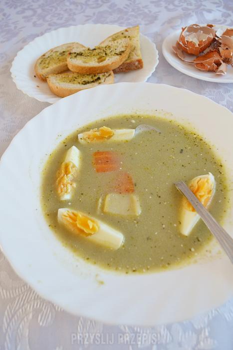 Zupa szczawiowa wg Magdy Gessler