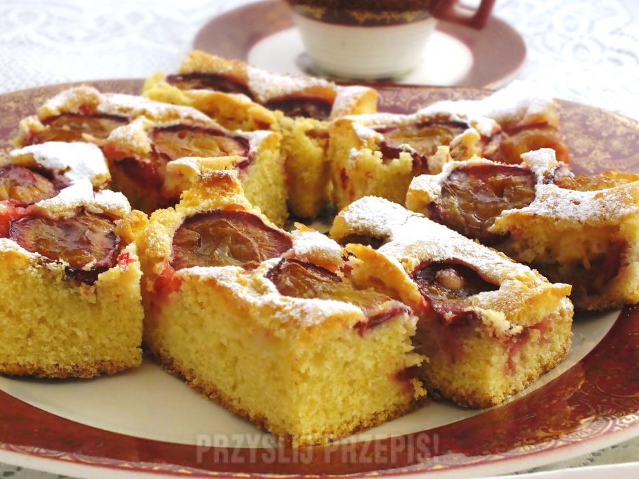 Ciasto Piaskowe Z Owocami Przyslijprzepis Pl