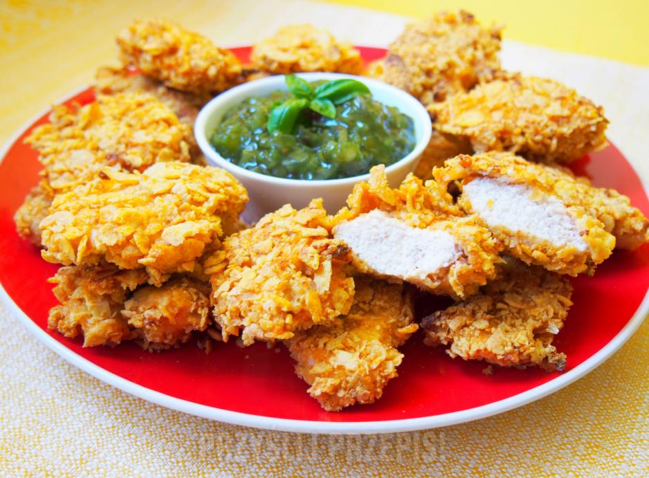 Dietetyczne Nuggetsy Pieczone W Piekarniku Przyslijprzepis Pl
