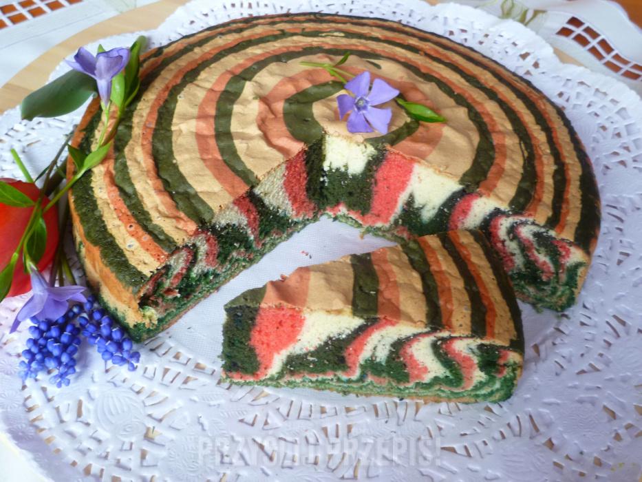 Ciasto Trio Przyslijprzepis Pl