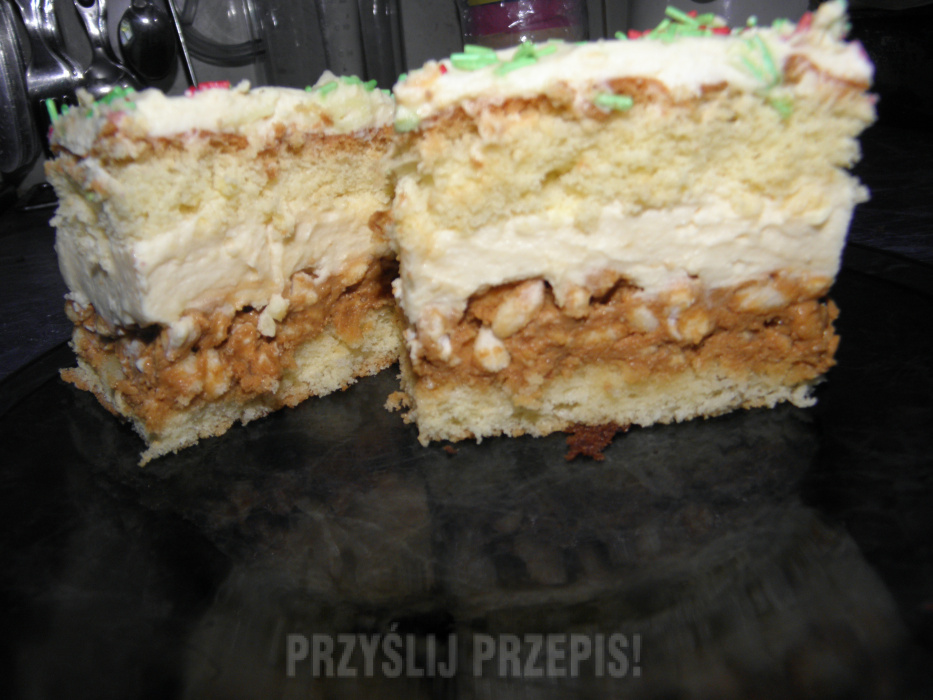 Ciasto Bialy Lion Przyslijprzepis Pl