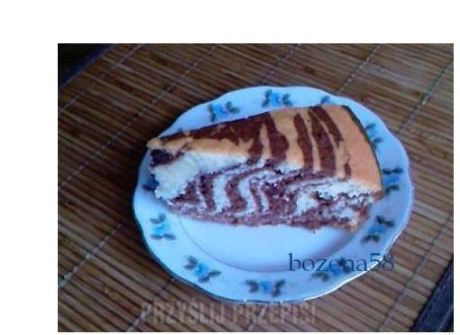 Ciasto Zebra Tygrysek