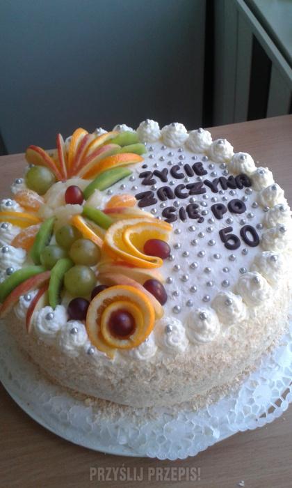 Tort Urodzinowy Na 50 Urodziny