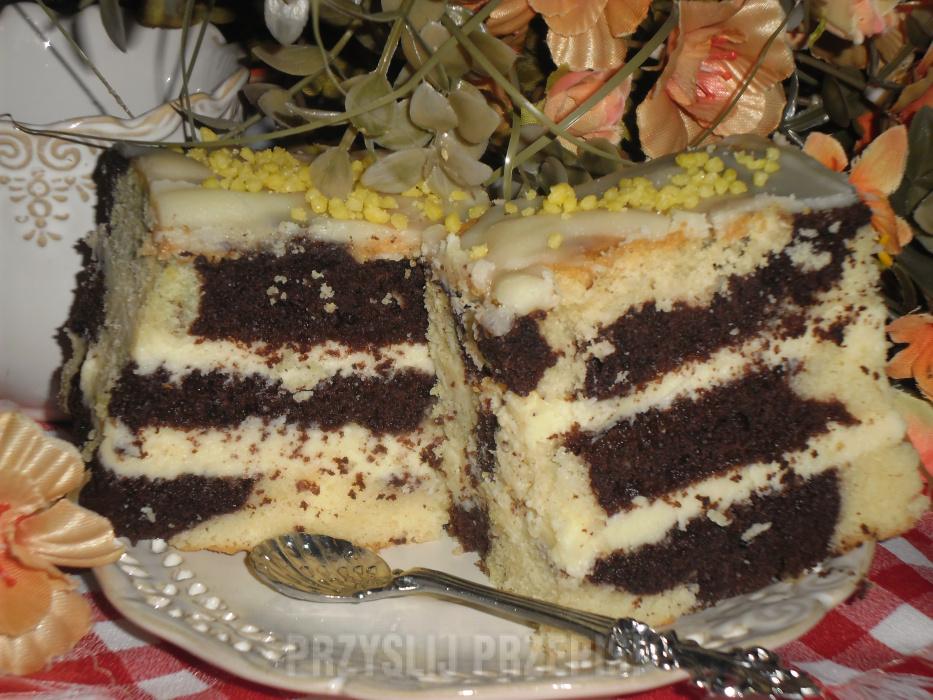Ciasto Laciatek Z Masa Serowa Przyslijprzepis Pl