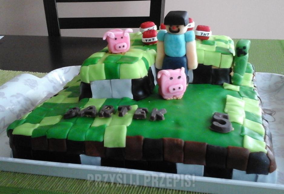 Tort Minecraft Przyslijprzepispl