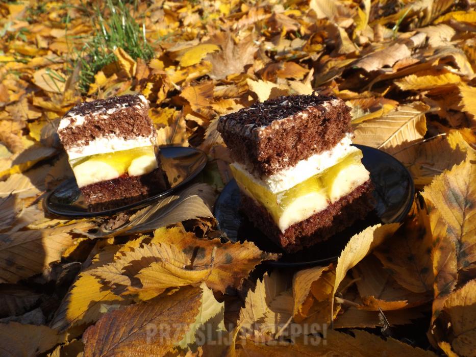 Ciasto Jamajka Przyslijprzepispl