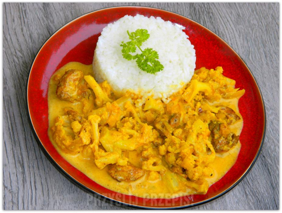 Kurczak Curry Z Kalafiorem Przyslijprzepis Pl